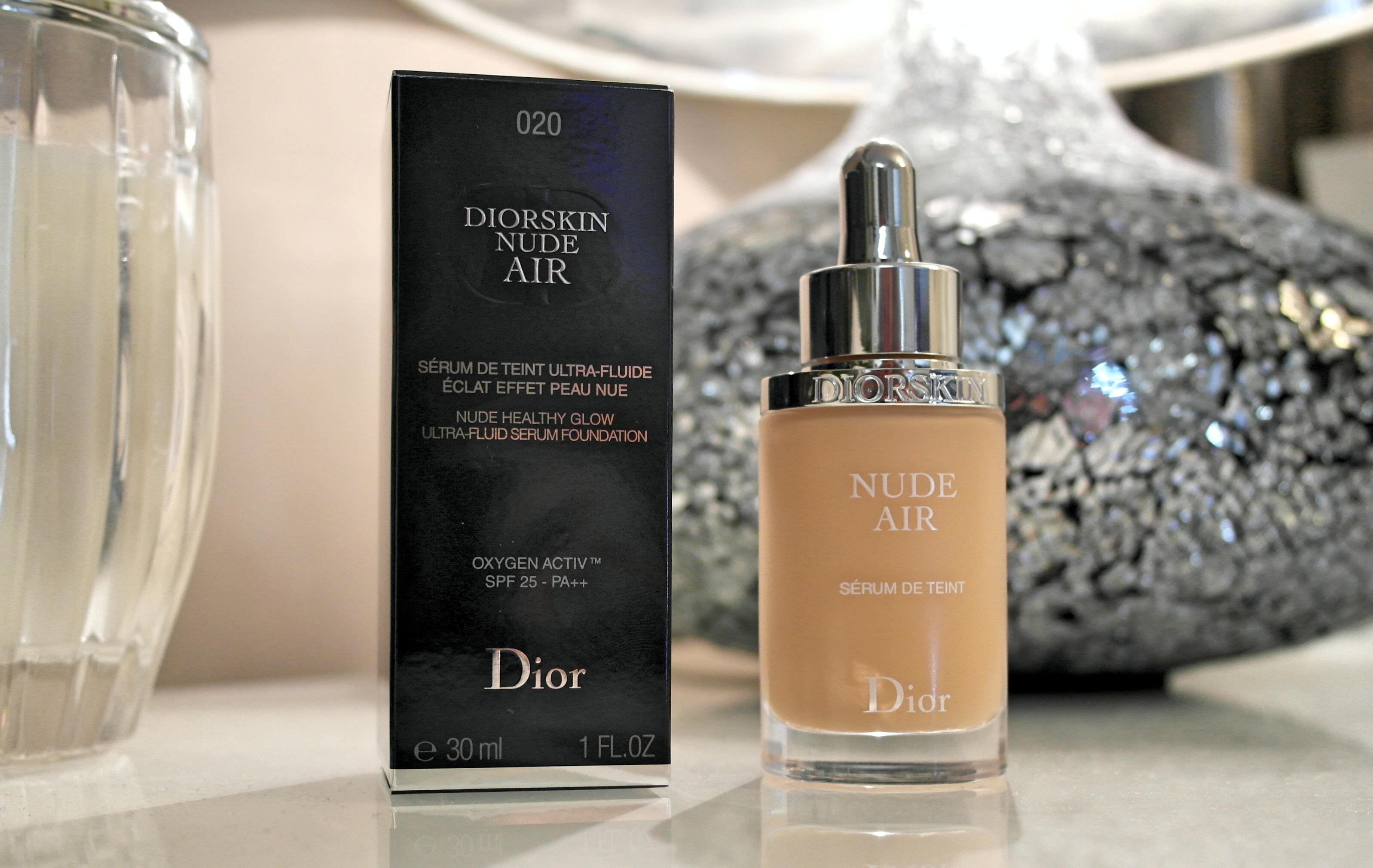 Diorskin nude air serum foundation by dior